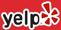 Yelp logo link.